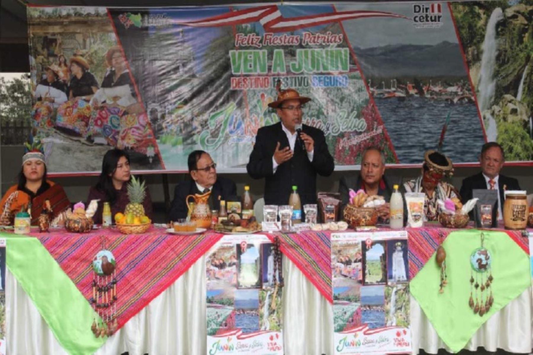 Meta de Junín en fiestas patrias es recibir a 140,000 visitantes