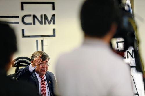 Presidente del CNM y consejeros renuncian al cargo