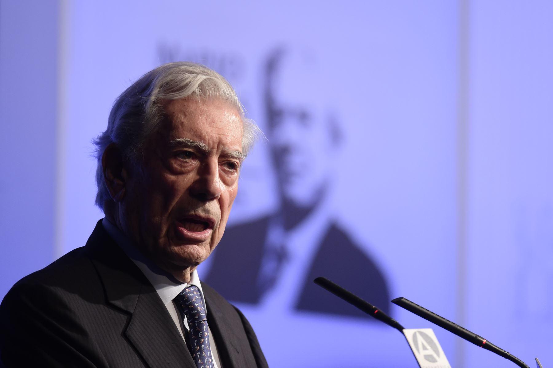 Mario Vargas Llosa AFP