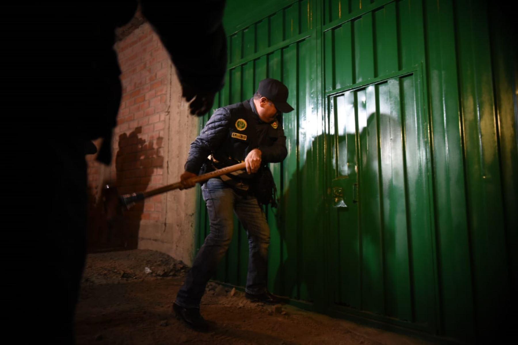 Policía desarticula organización criminal que operaba en Huaraz. ANDINA/Archivo