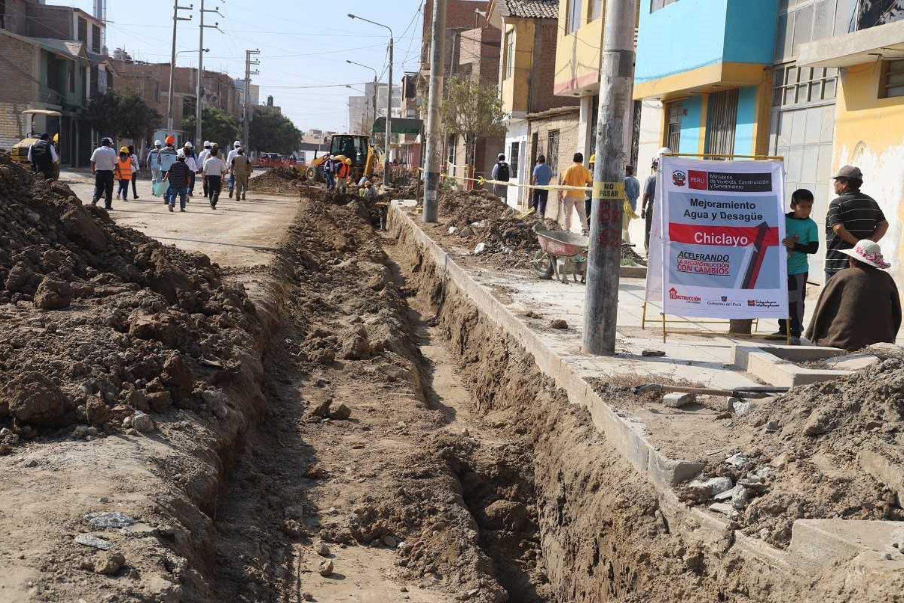 Priorizarán proyecto de mejoramiento de sistema de alcantarillado de Chiclayo - Agencia Andina