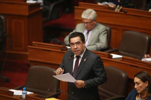 Pleno del Congreso de la República debate la remoción   de los consejeros del CNM