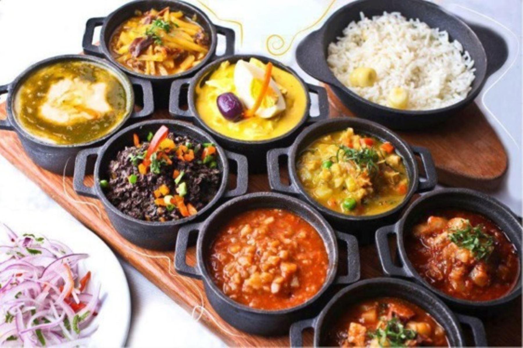 Familias disfrutarán de la diversa gastronomía nacional. ANDINA/Difusión