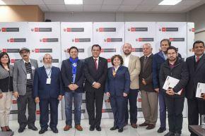 Ministro del Interior se reunió con 10 candidatos a la Alcaldía de Lima. Foto: Mininter.