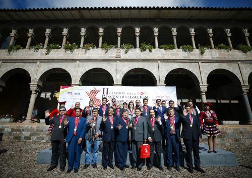 Vicepresidenta de la República, Mercedes Aráoz participó en la II Cumbre de la Descentralización, Cusco 2018