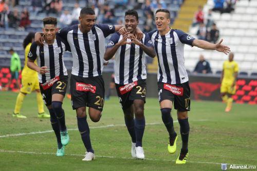 Alianza Lima goleó 5-1 a Comerciantes Unidos y sigue como líder del Apertura