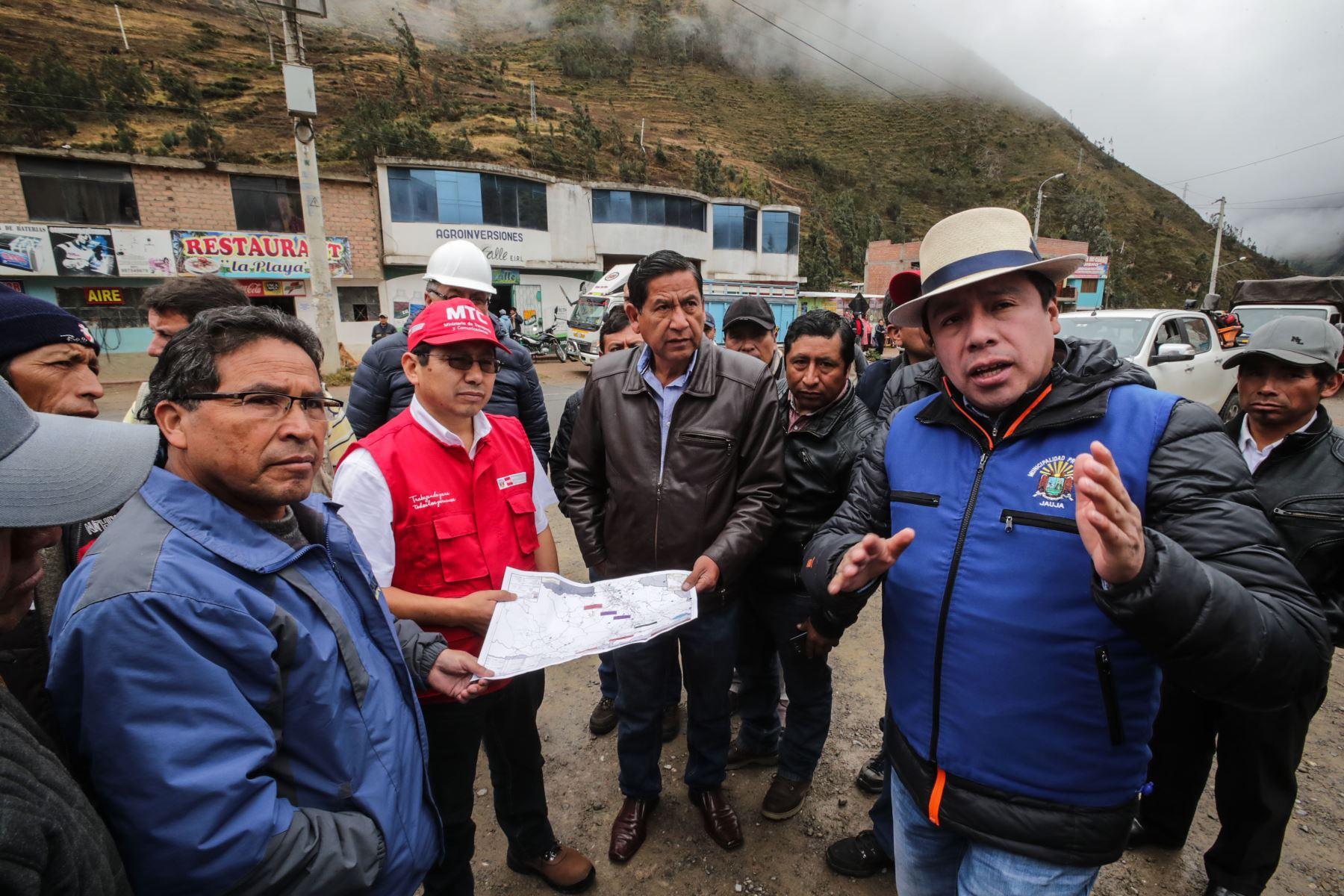 MTC transfirió S/ 124 millones a Junín para proyectos viales. ANDINA/Difusión