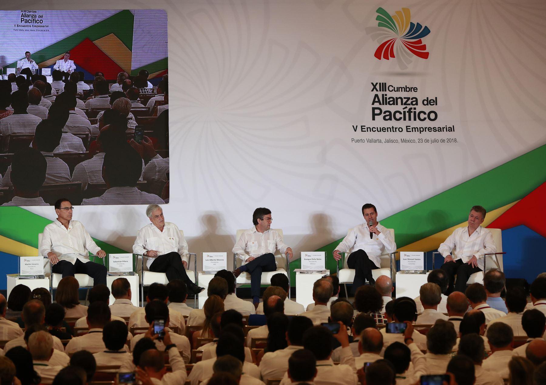 XIII Cumbre de la Alianza del Pacífico que se desarrolló en México.