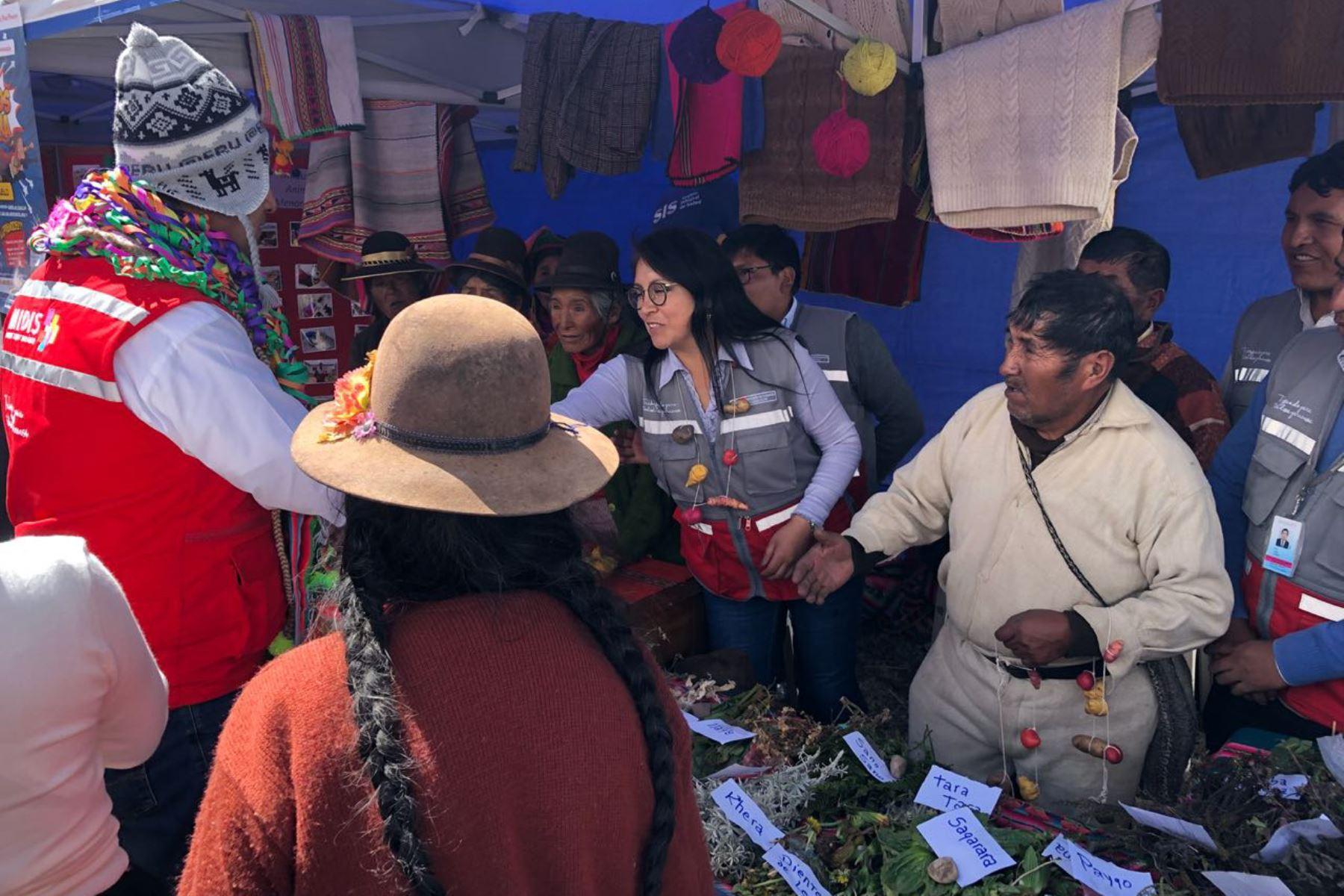 Con caravana multisectorial, Midis promueve la lucha contra la anemia en zonas rurales de Puno. ANDINA/Difusión