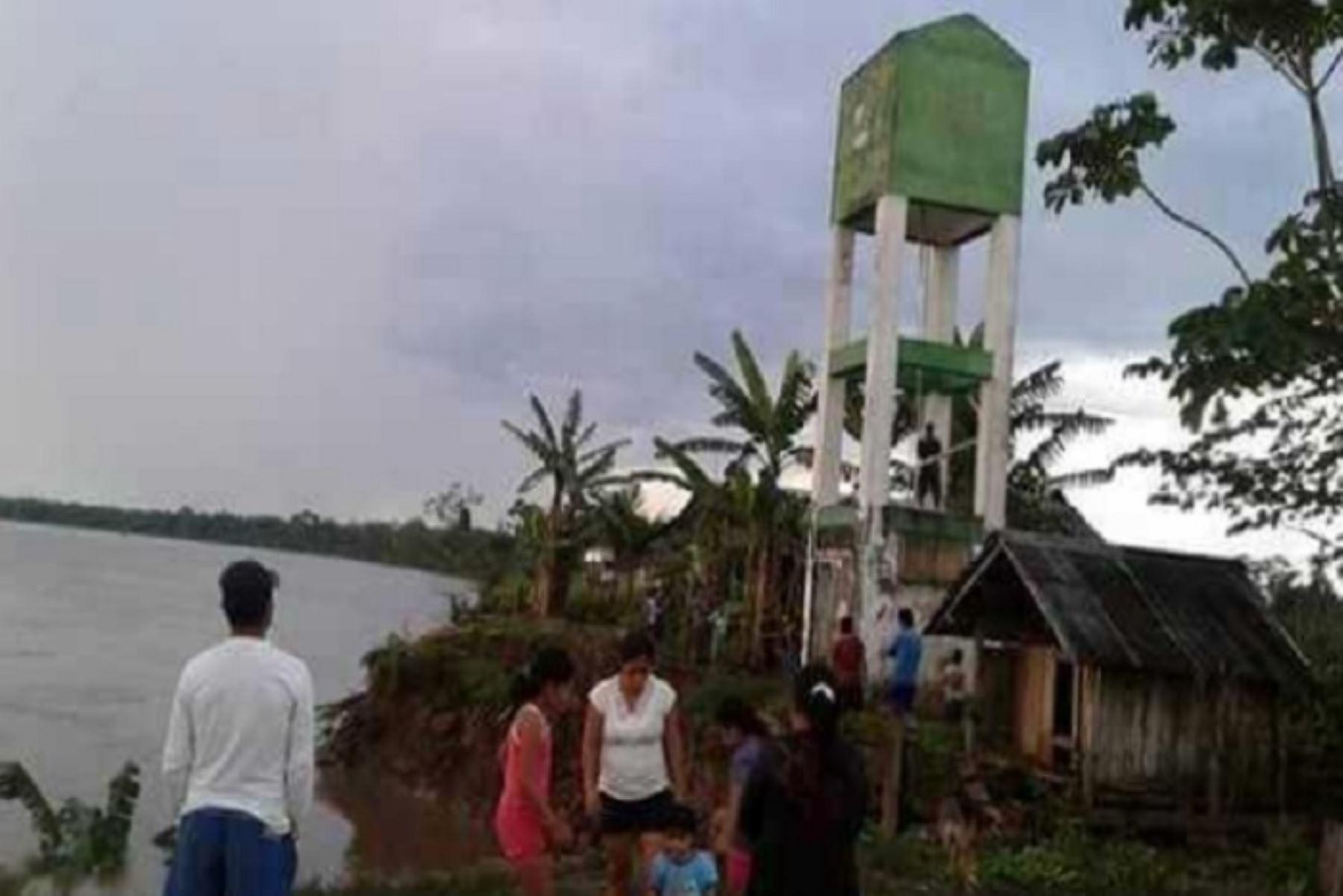 Loreto: coordinan reubicar a familias afectadas por erosión fluvial
