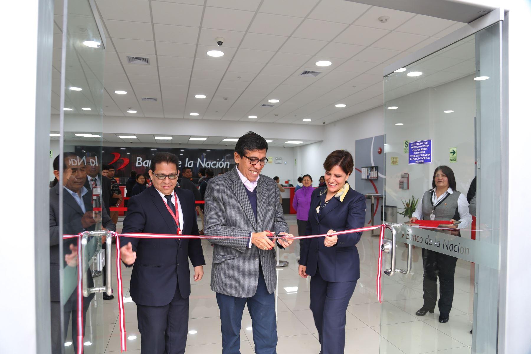 El presidente del Banco de la Nación, Luis Arias Minaya.