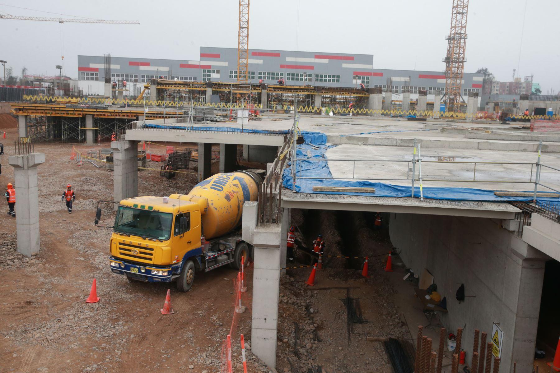 Continúa dinamismo de la inversión pública. ANDINA/Vidal Tarqui