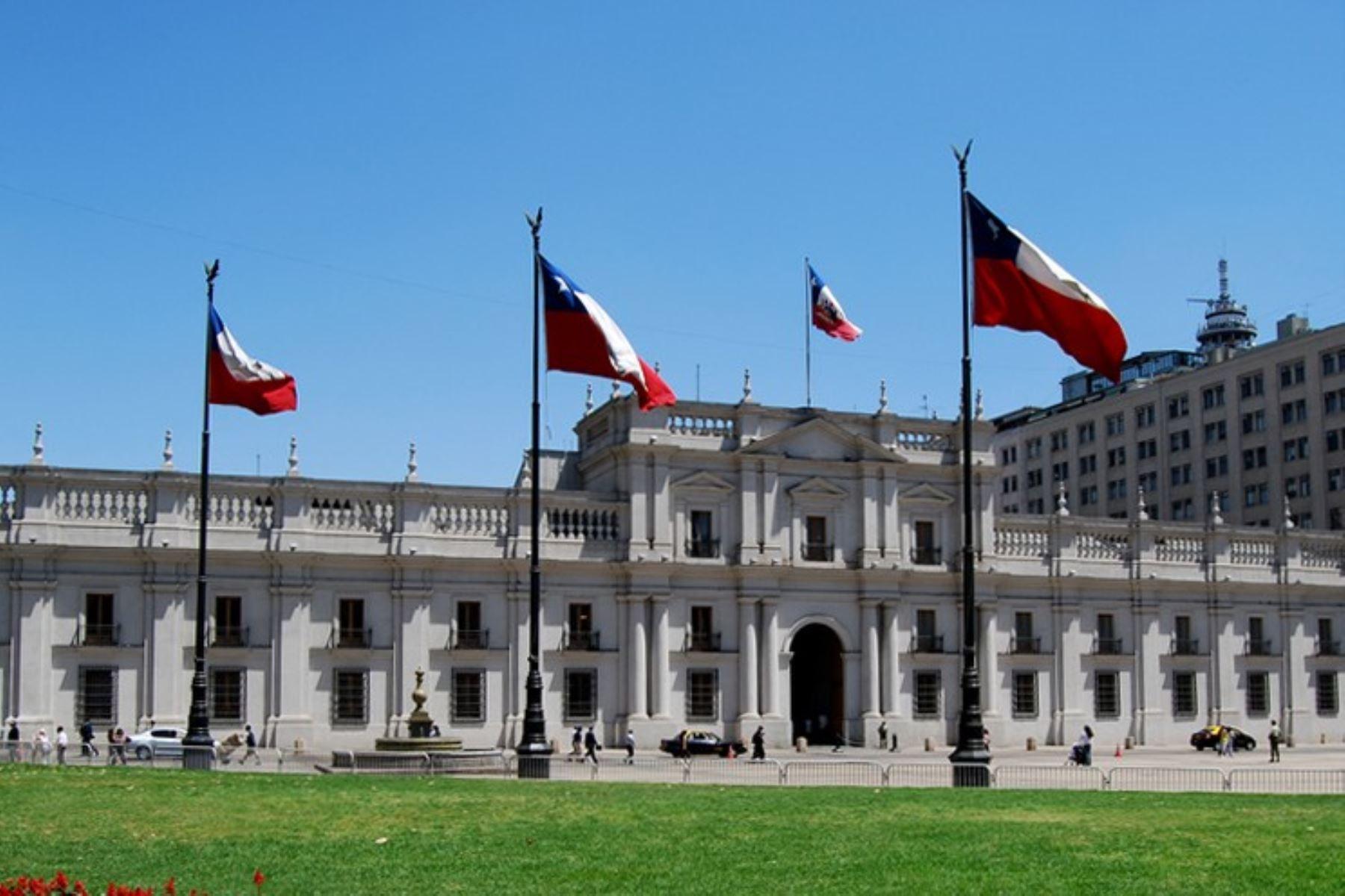 Palacio presidencial de La Moneda, Chile Foto: ANDINA/Difusión