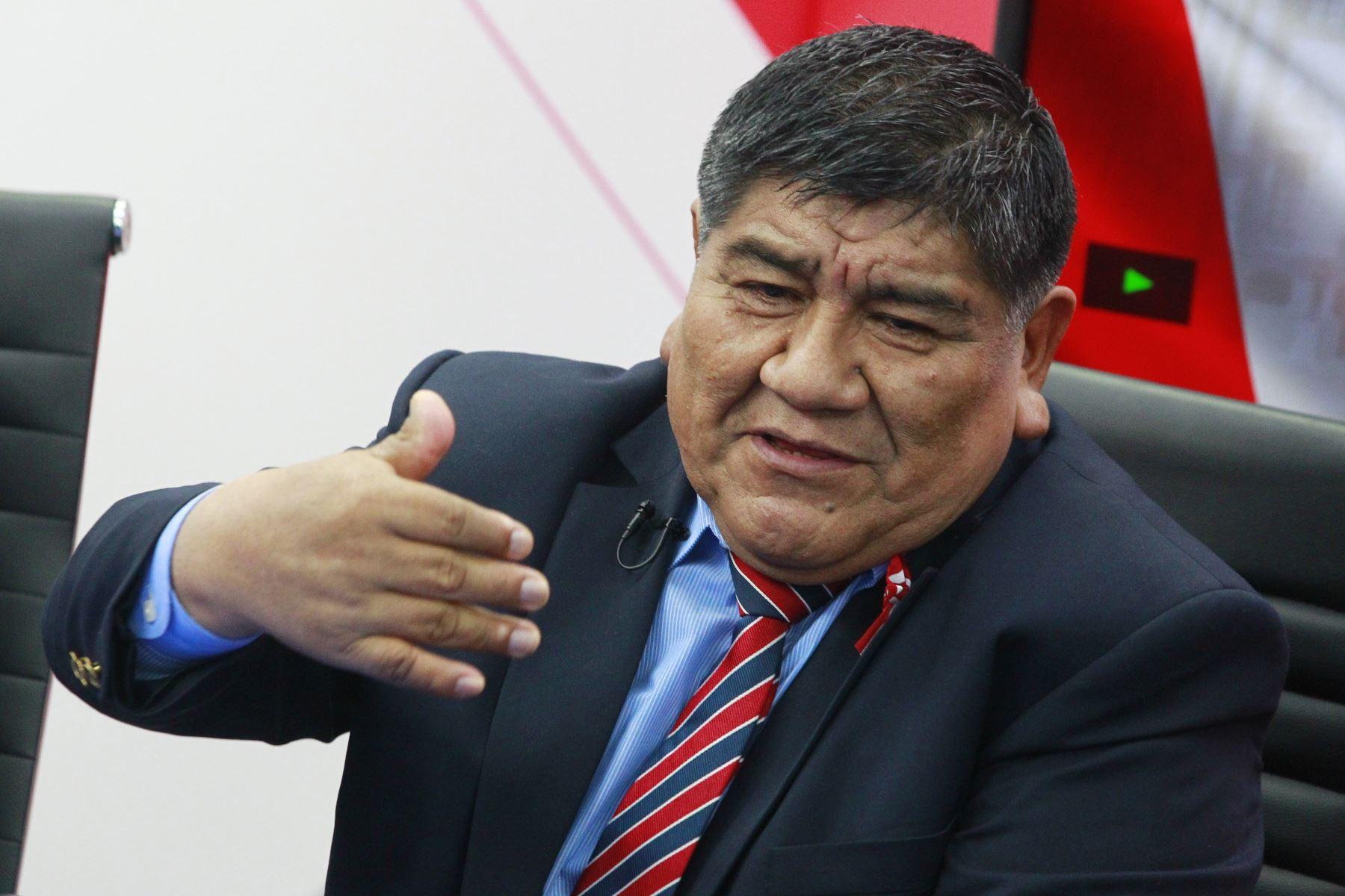 Ex viceministro de minas, Rómulo Mucho. ANDINA/Eddy Ramos