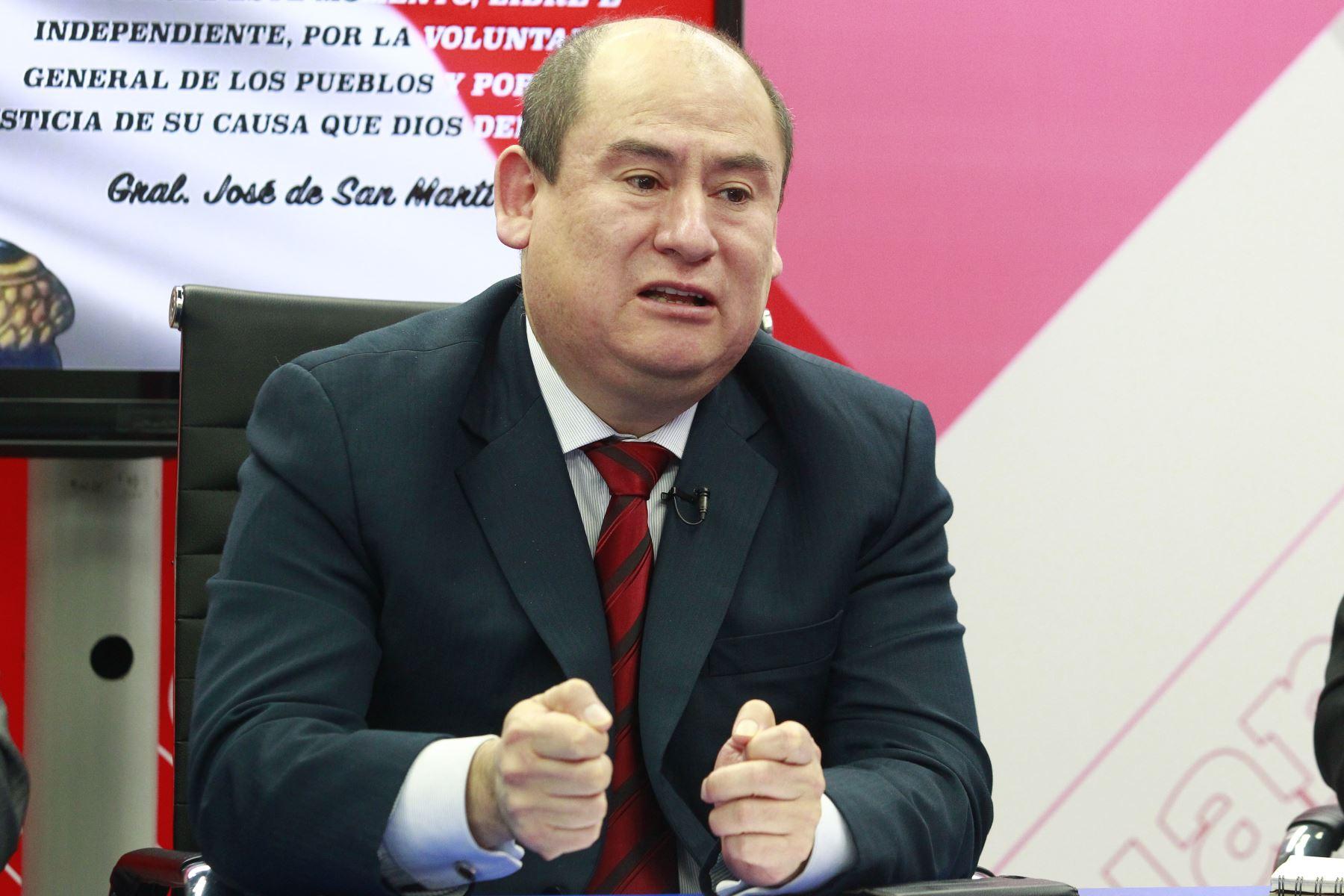 Melvin Escudero. ANDINA/Eddy Ramos