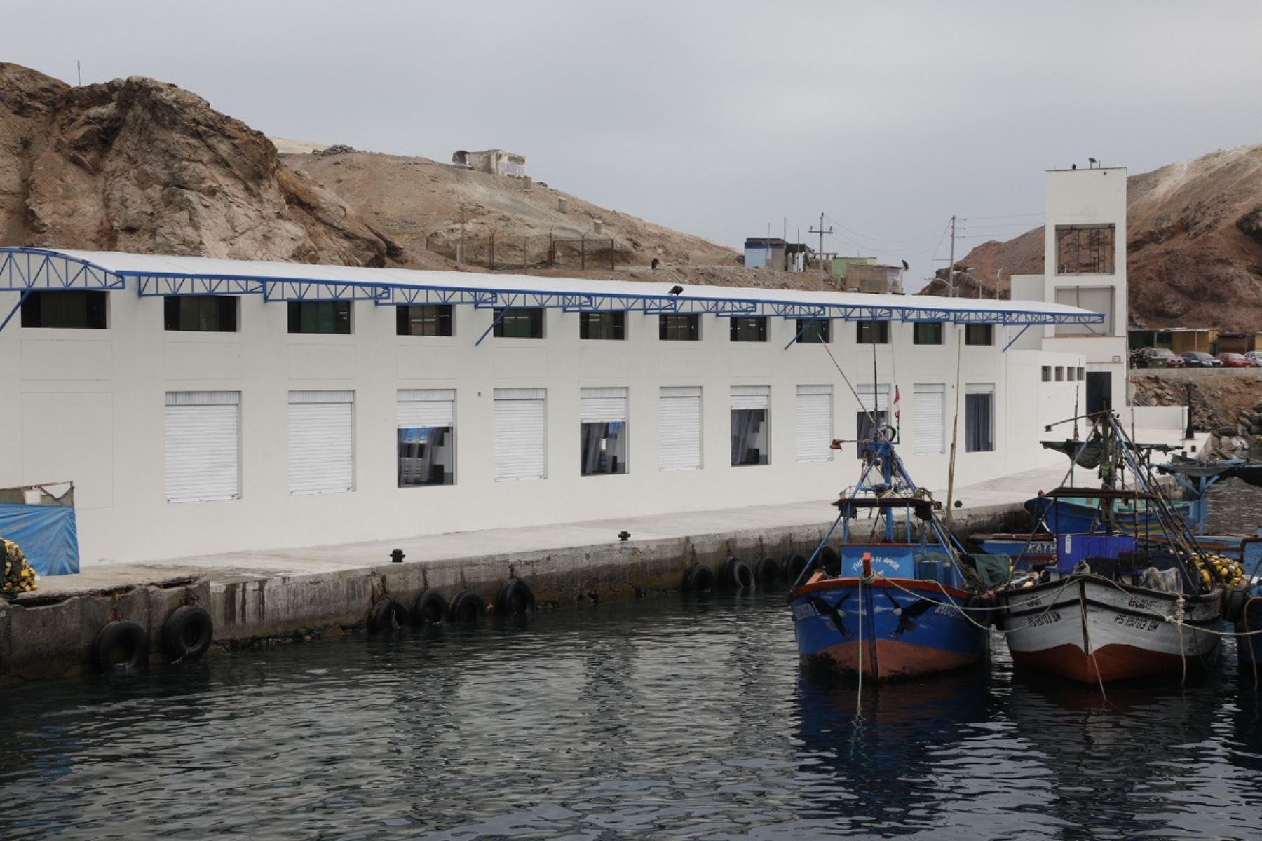 Desembarcadero Pesquero Artesanal modernizado. Foto: Cortesía