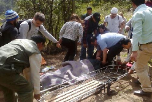 El choque de dos trenes de las empresas Inka Rail y Perú Rail, ocurrido esta mañana a la altura del kilómetro 88 de la vía a Machu Picchu, entre Ollantaytambo y Machu Picchu Pueblo (Aguas Calientes), ha dejado cinco de ellos de gravedad.