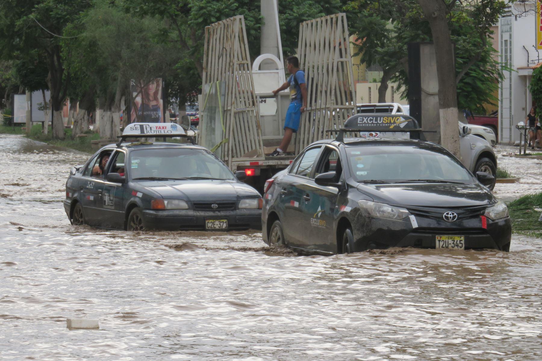 En 45 días licitarán estudios para solución definitiva de las quebradas que cruzan la ciudad de Trujillo. ANDINA