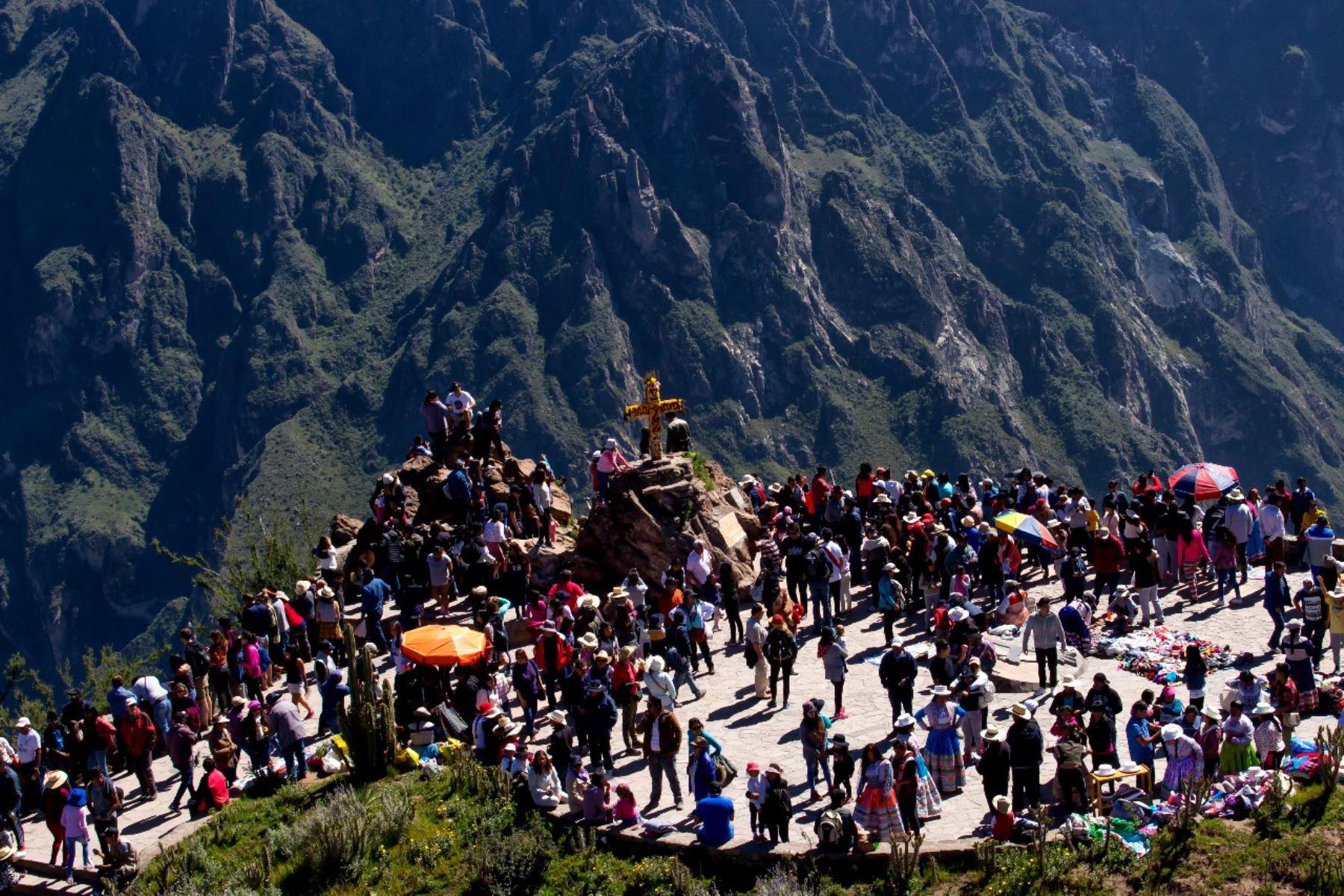 El valle del Colca se consolida como principal destino turístico de Arequipa. ANDINA