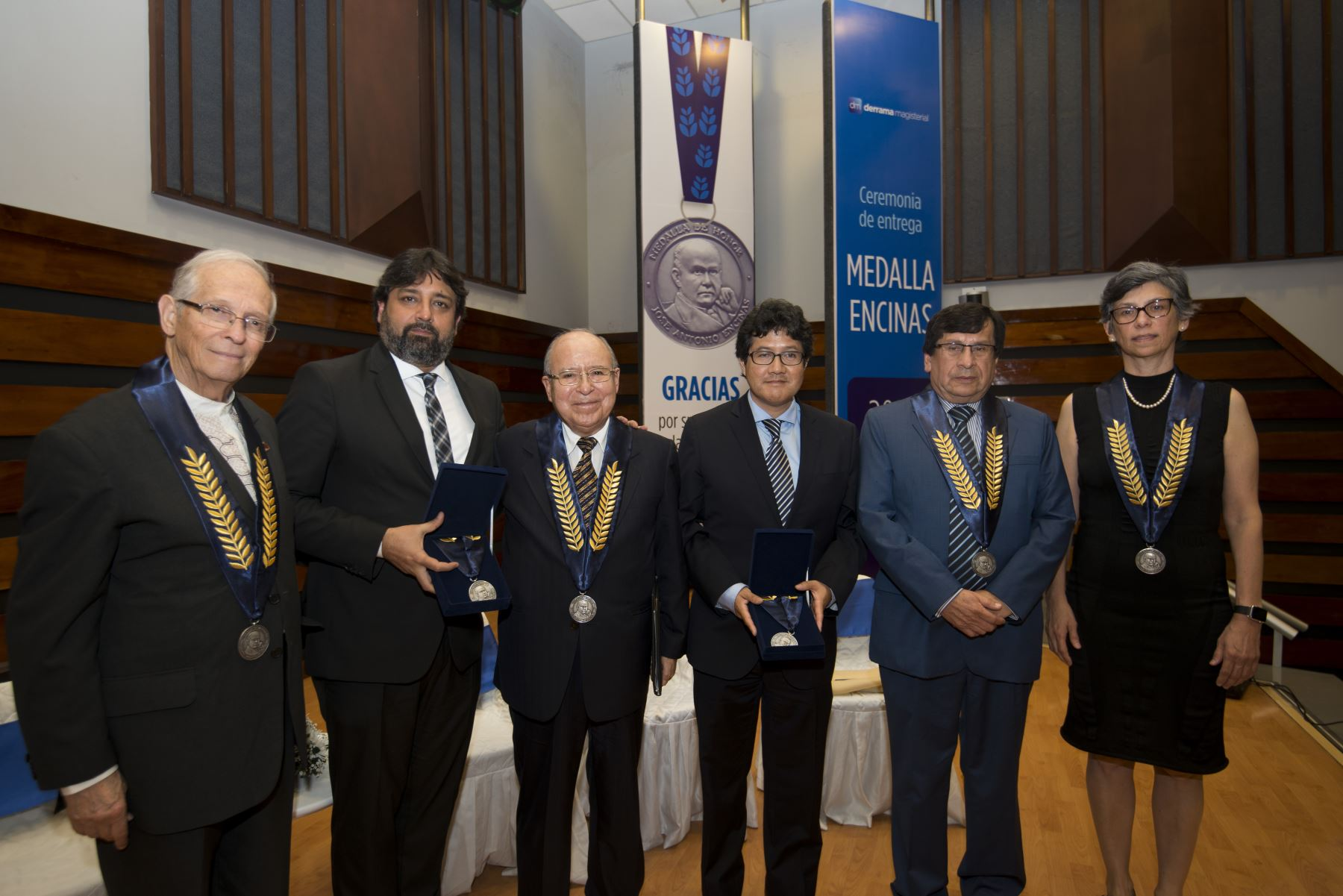 Premio Medalla Encinas 2018