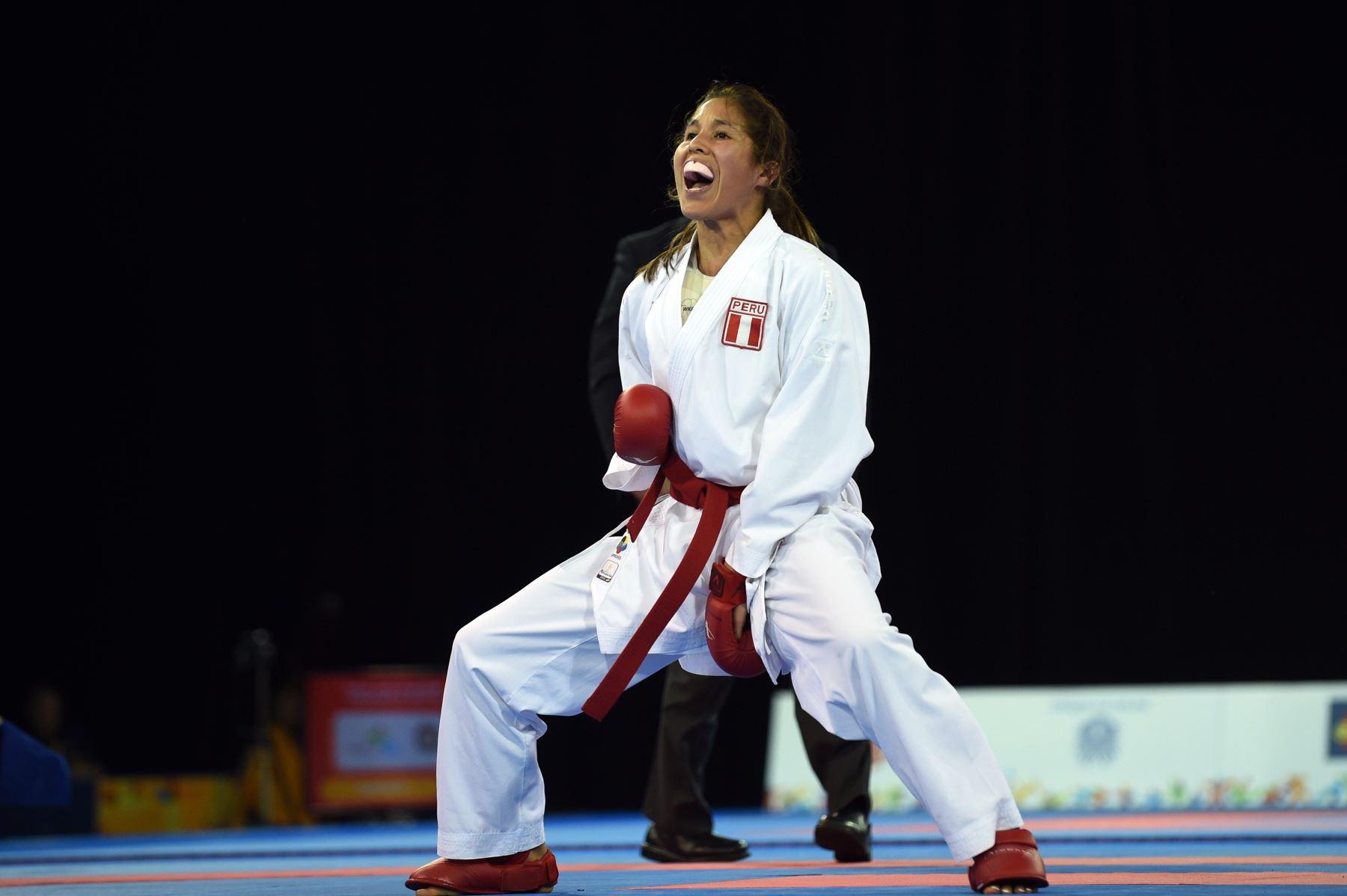 Alexandra Grande en el top 5 del ranking mundial de karate