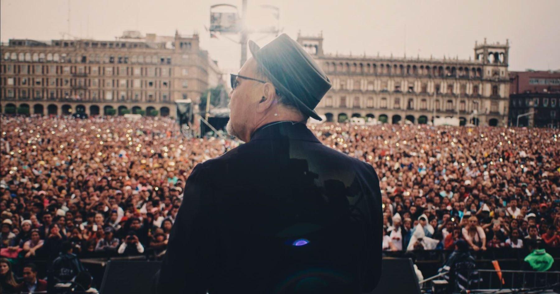 """Escena de la película """"Yo no me llamo Rubén Blades""""."""
