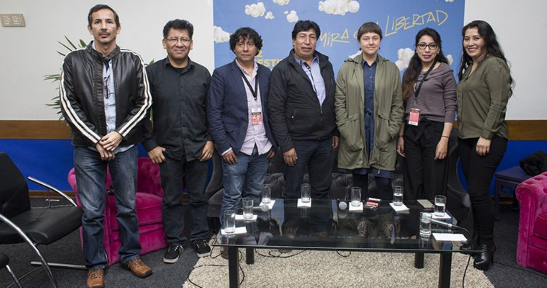 Representantes de cine regional.