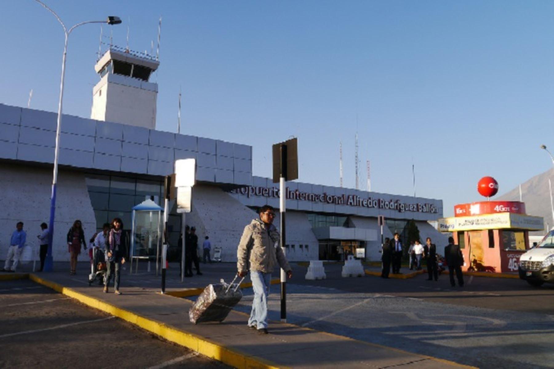 Aeropuerto de Arequipa. ANDINA/Difusión