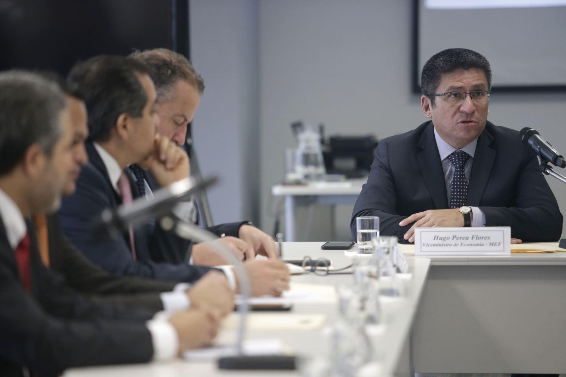 Hugo Perea, vice ministro de economia. ANDINA/Melina Mejía
