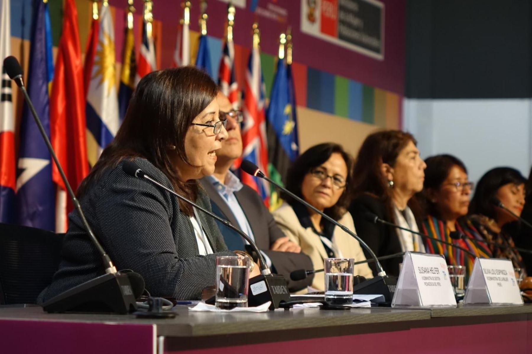 """Minedu: """"Enfoque de igualdad de género acabará con violencia contra la mujer"""". Foto: ANDINA/Difusión."""