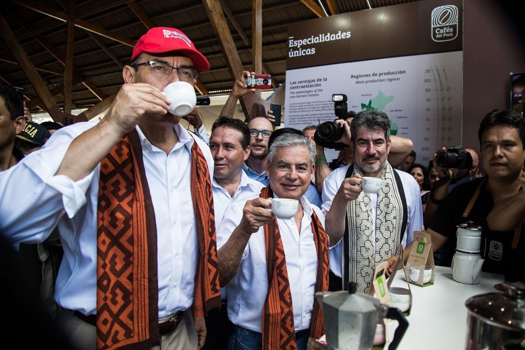 Gobierno presenta la marca Cafés del Perú para posicionar al café peruano como producto de calidad. ANDINA/Difusión