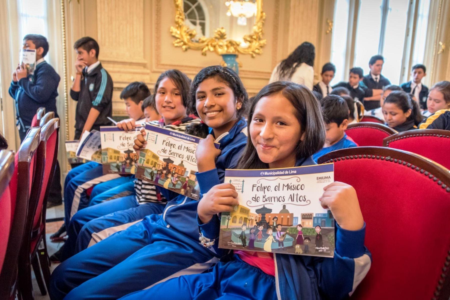 Presentan cuentos infantiles sobre personajes y barrios de la Lima antigua. Foto: ANDINA/Difusión.