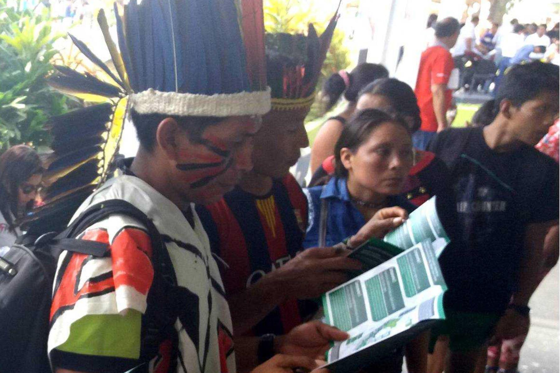 El proyecto de titulación de tierras que ejecuta el Ministerio de Agricultura y Riego (Minagri), a través de la Unidad Ejecutora Gestión de Proyectos Sectoriales, beneficiará a 403 comunidades indígenas, informó el sector en la ExpoAmazónica 2018, que se desarrolla en Pucallpa, región Ucayali.