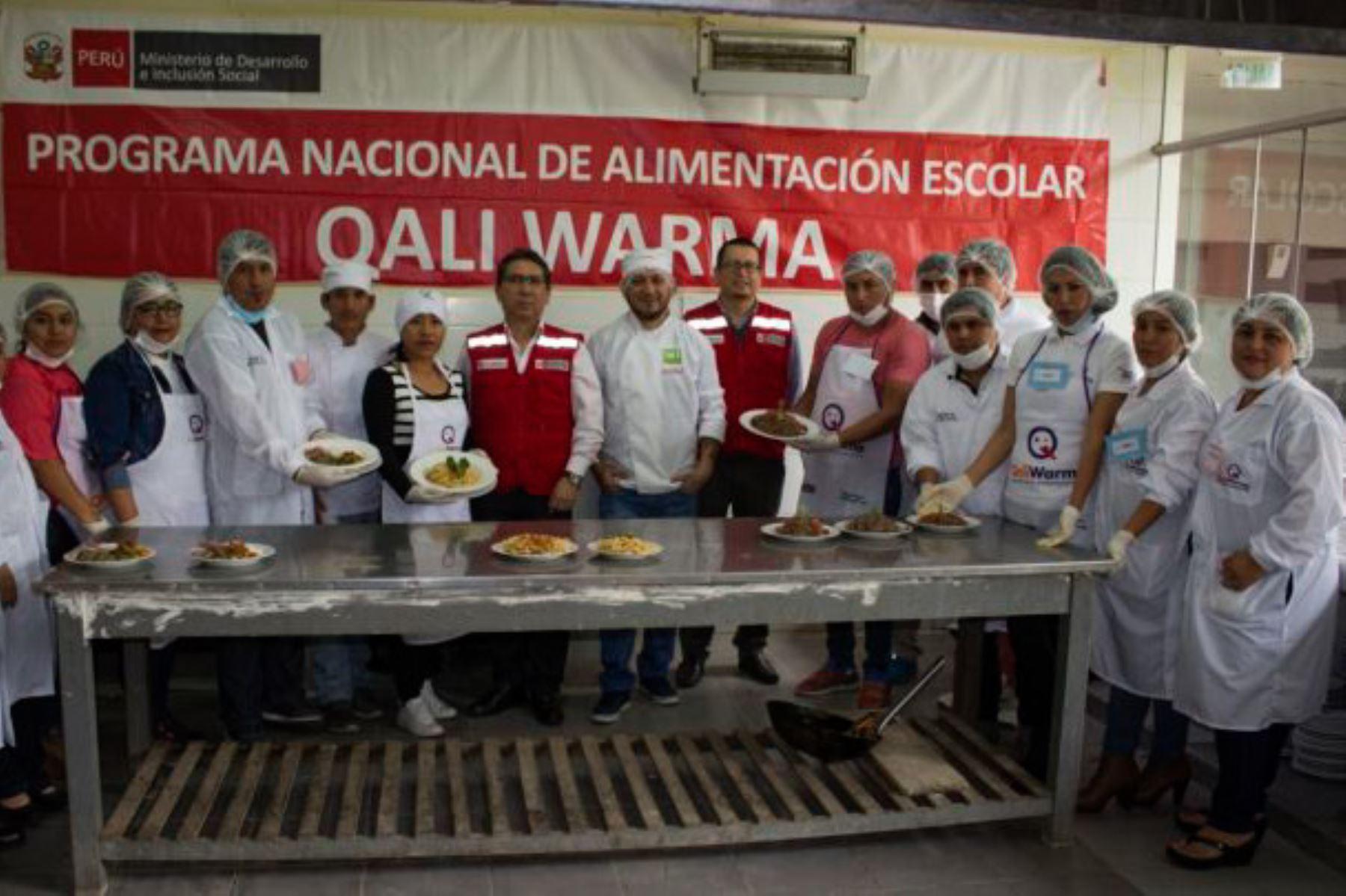 Conservas de sangrecita, bofe y carne de res, son entregadas en las instituciones educativas públicas de la región Huánuco, por el Ministerio de Desarrollo e Inclusión Social (Midis) a través del Programa Nacional de Alimentación Escolar Qali Warma.