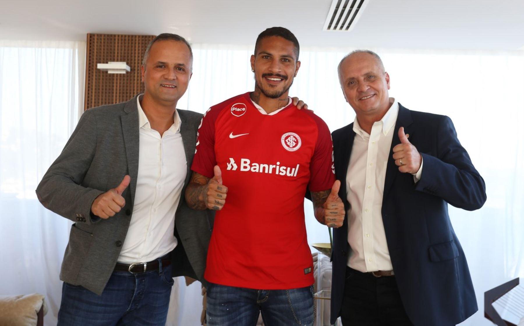 Inter de Porto Alegre: Paolo Guerrero fue presentado oficialmente