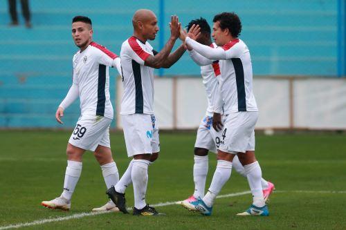 San Martín apabulló 6-1 a  Deportivo Municipal
