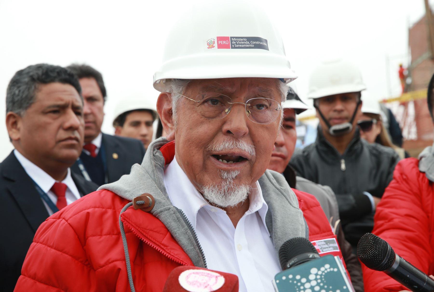 Ministro de Vivienda, Construcción y Saneamiento, Javier Piqué ANDINA/Norman Córdova