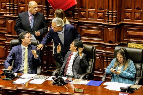Sesión Ordinaria del Congreso de la República