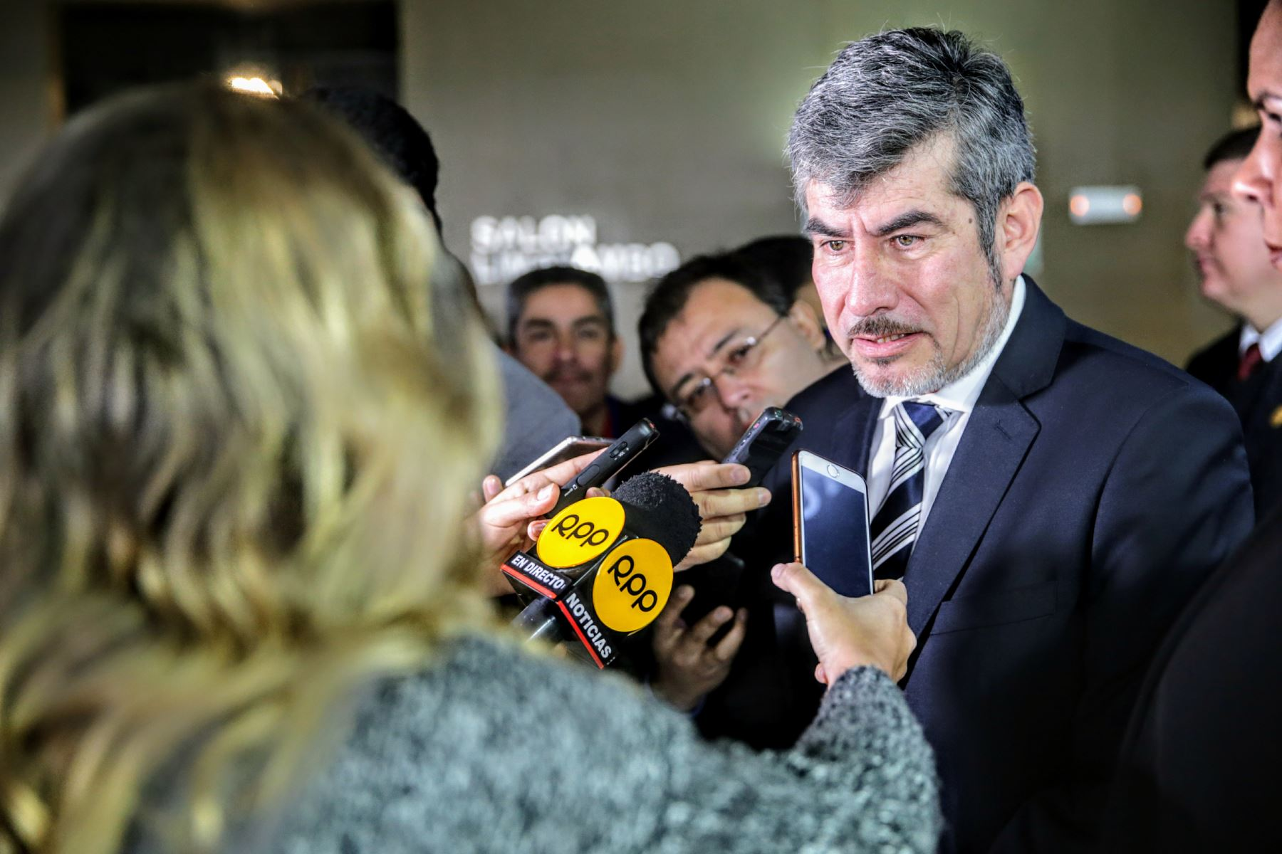 Ministro de Comercio Exterior y Turismo, Roger Valencia ANDINA/Luis Iparraguirre