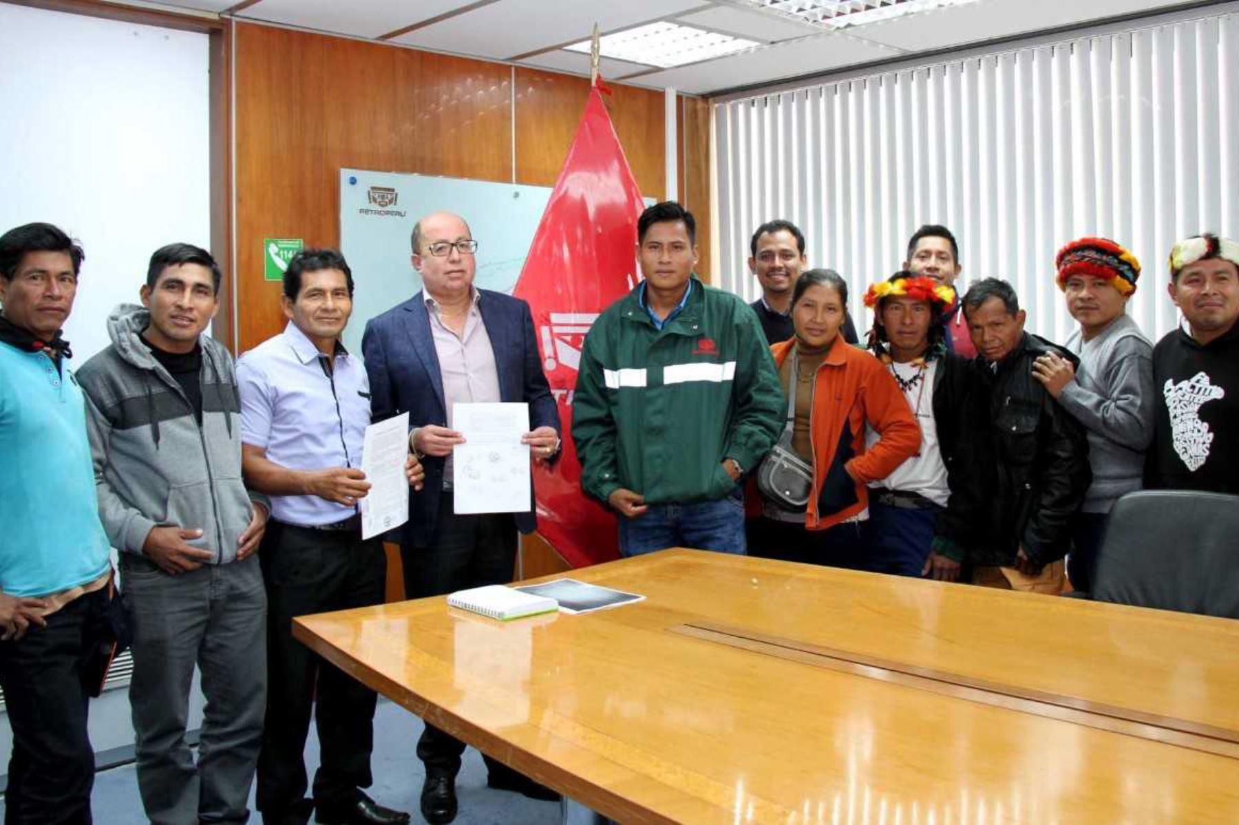 Petroperú y comunidad Chapis acuerdan reanudar labores de ...