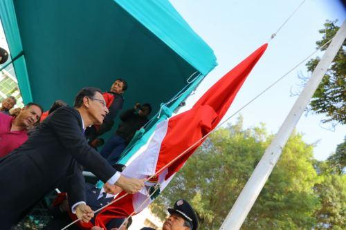 Presidente Vizcarra participa en actividades por 479 aniversario de Huánuco