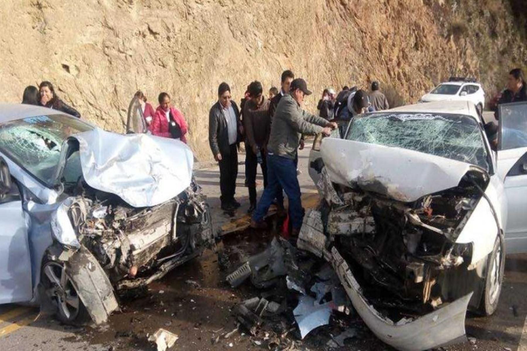 Juez de Paz muere en accidente en carretera Huancayo – Pampas
