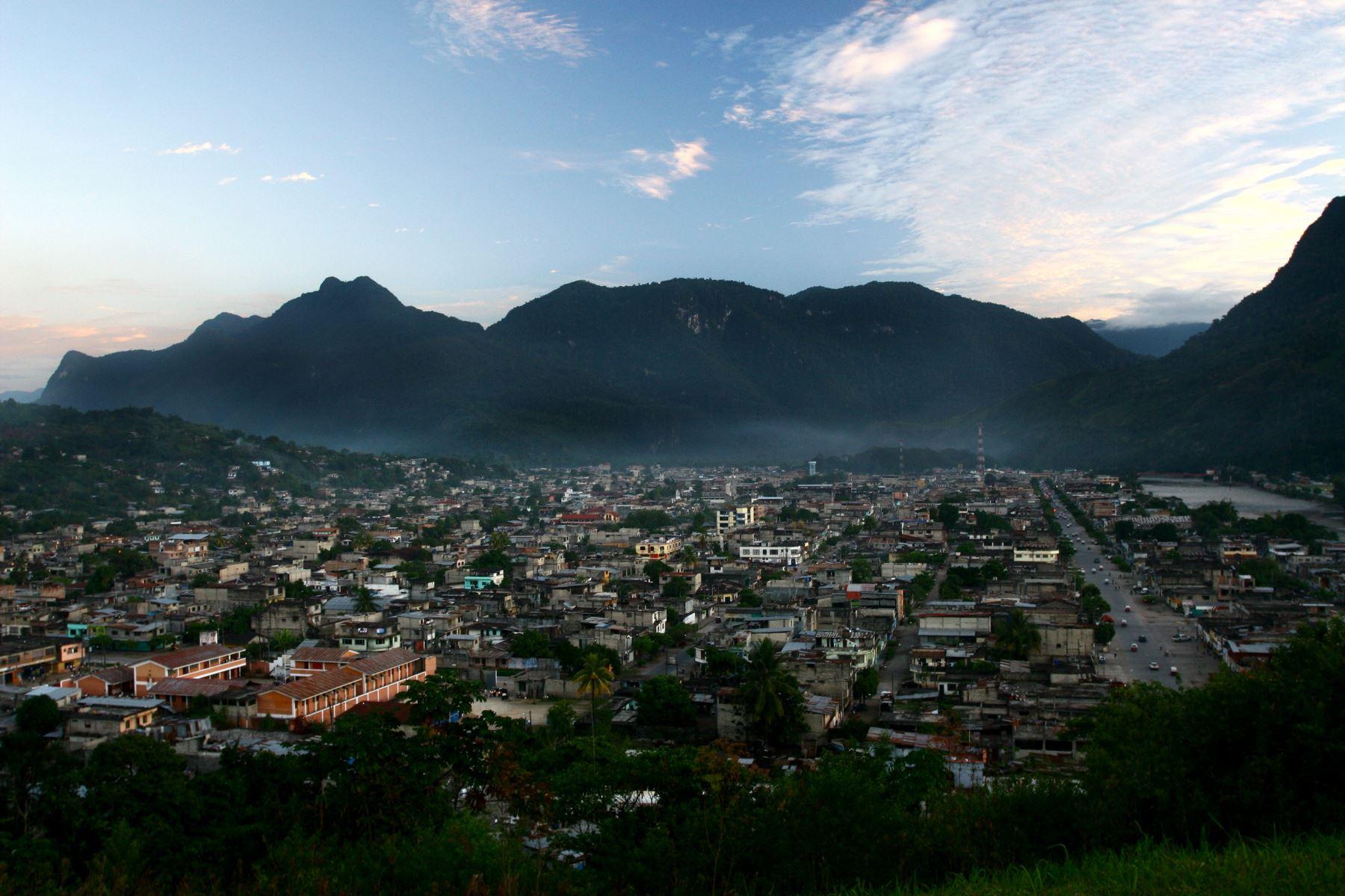 La ciudad de Tingo María fue remecida esta mañana por un sismo de magnitud 4.0, reportó el IGP. Cortesía
