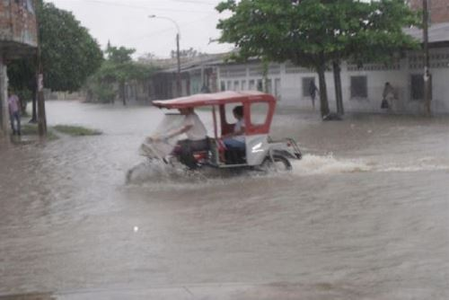 Reportan lluvias de moderada a fuerte intensidad en Huánuco y Ucayali. ANDINA/Difusión