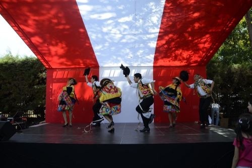 Festival Peruano en Brasilia Foto: Embajada de Perú en Brasil.