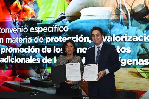 El Instituto Nacional de Defensa de la Competencia y de la Protección de la Propiedad Intelectual (Indecopi) y el Ministerio de Cultura suscribieron dos importantes convenios de cooperación interinstitucional.
