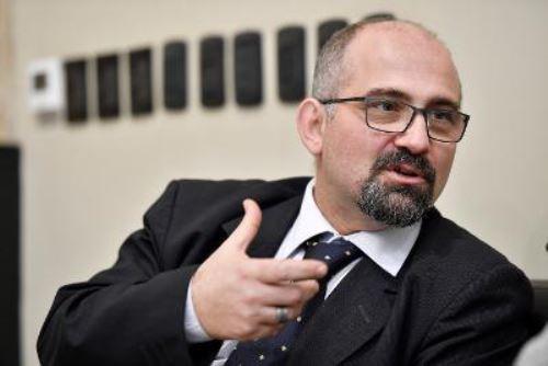 Paolo Valente, presidente del Comité de Italianos en el Exterior-Perú. Foto: Andina/Difusión.