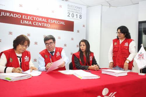 Elecciones 2018: Se han inscrito más de 11,000 listas de candidatos. Foto: Difusión.
