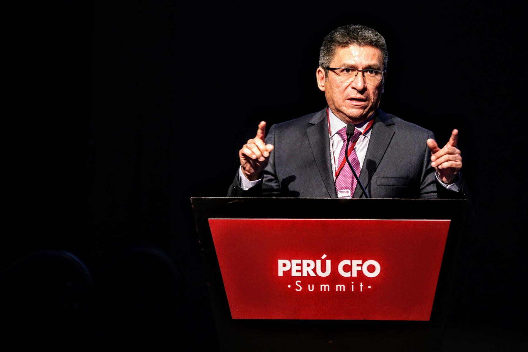 Viceministro de Economía, Hugo Perea. ANDINA/Luis Iparraguirre