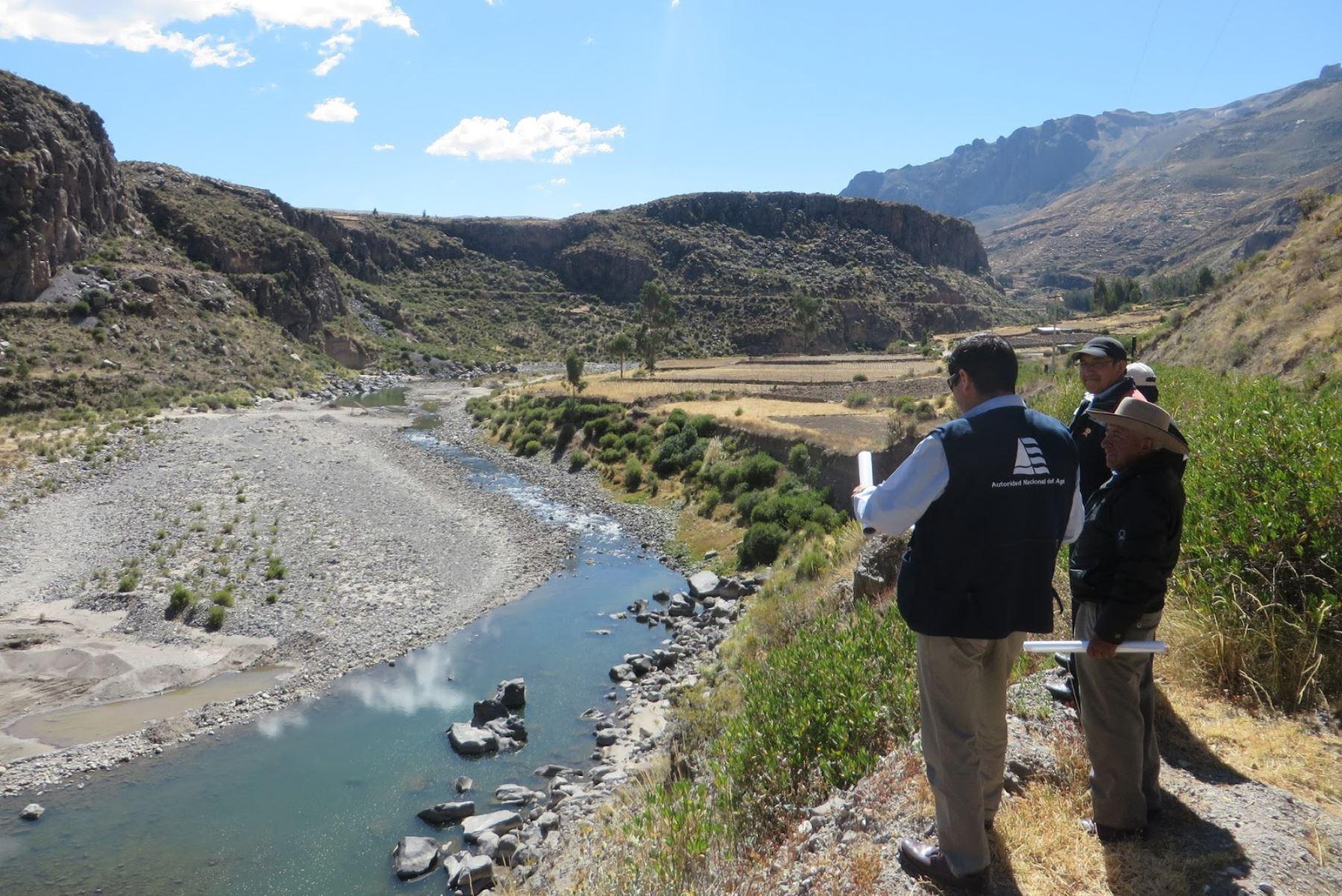 ANA promueve la delimitación de las fajas marginales para salvar vidas de inundaciones de ríos o lagos. ANDINA/Difusión